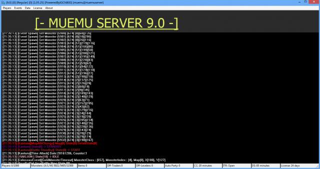 MuEMU x9 Server Gallery